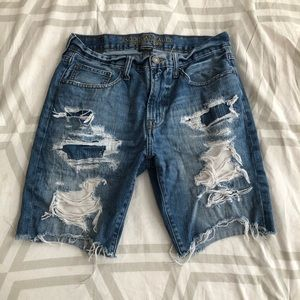 Men's American Eagle Distressed Shorts Size 31